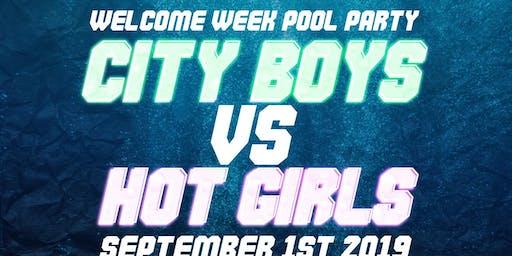 RU Welcome Week: City Boys Vs Hot Girls
