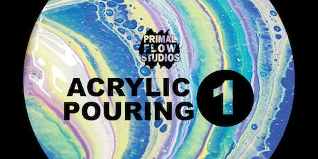 Adult Acrylic Pouring Class I tickets
