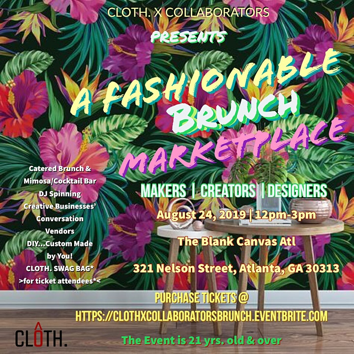 A Fashionable BRUNCH | CLOTH. X COLLABORATOR image