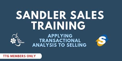 Sandler Sales Training: Applying Transactional Analysis to Selling