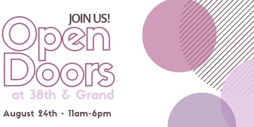 Open Doors at 38th & Grand