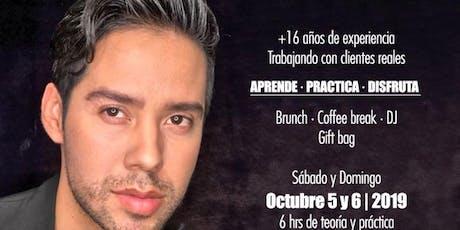 """Seminario de Maquillaje intensivo 2 días  de Clase teórico, práctico y Visual """"  Para futuros Artistas. tickets"""