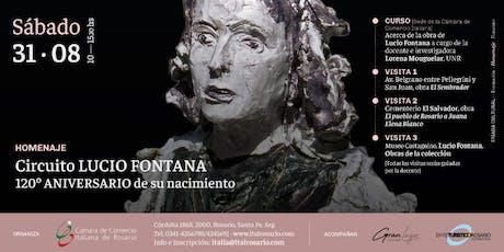 Circuito LUCIO FONTANA 120º ANIVERSARIO de su nacimiento. entradas