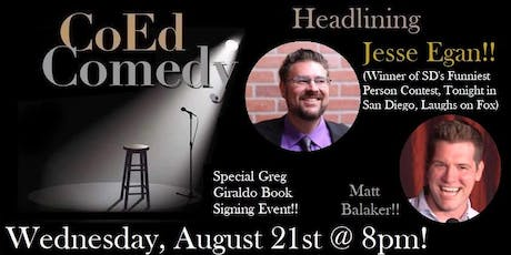Free Comedy in San Diego Tuesday 8/21! tickets