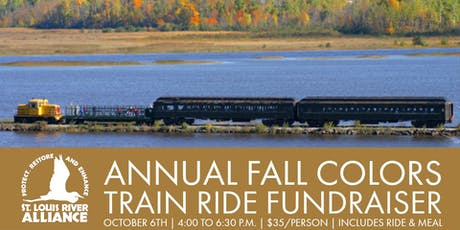 SLRA Annual Fall Colors Train Ride Fundraiser tickets