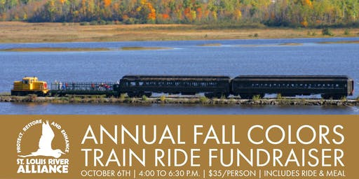 SLRA Annual Fall Colors Train Ride Fundraiser