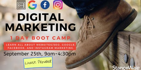 StanceWise Digital Marketing 1 Day Boot Camp! tickets