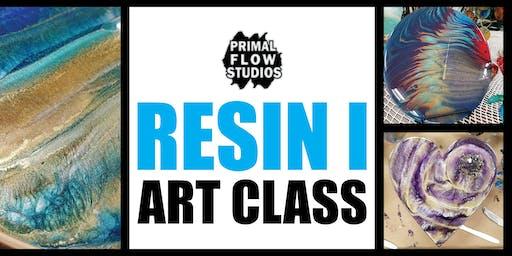 Resin Epoxy Art Class I