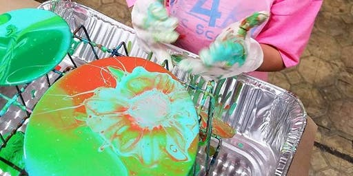 Children's Acrylic Pouring Class