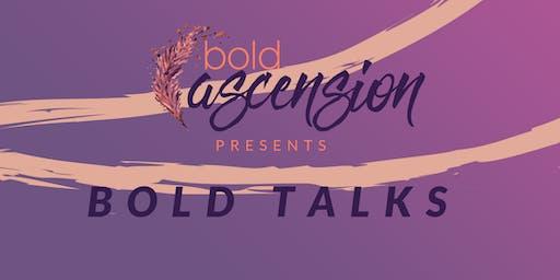 October Bold Talks