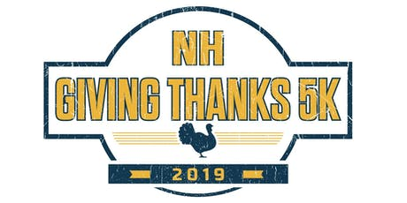 NH Giving Thanks 5K 2019 tickets