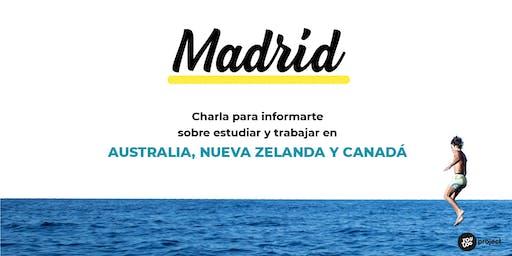 Charla YouTOOProject en Madrid: Australia, Nueva Zelanda y Canadá