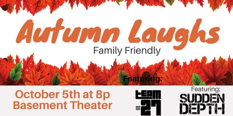 Autumn Laughs - Family Friendly Improv Show tickets
