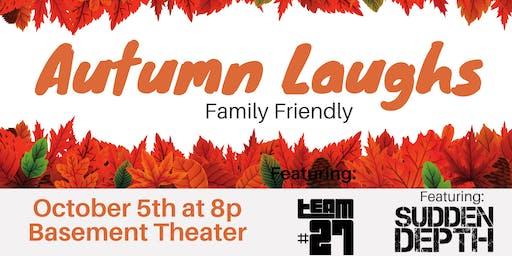 Autumn Laughs - Family Friendly Improv Show
