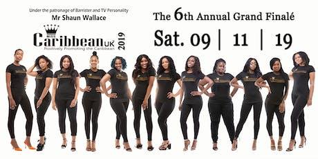 Miss Caribbean UK - 2019 GRAND FINAL tickets