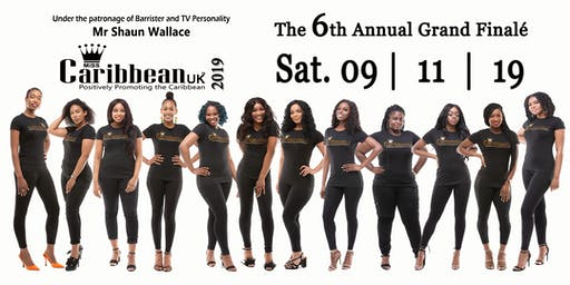 Miss Caribbean UK - 2019 GRAND FINAL