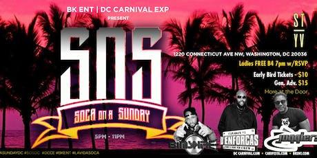 S.O.S :: Soca On A Sunday tickets