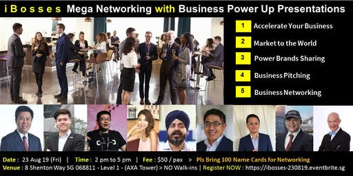 iBosses Mega Networking with Business Power Up Presentations