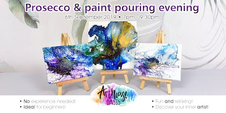 Prosecco and Paint Pouring Evening tickets