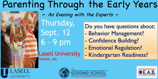 An Evening with the Experts: Parenting Through the Early Years