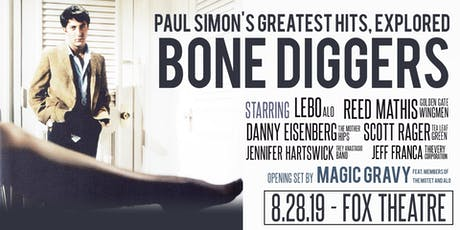 BONE DIGGERS: PAUL SIMON'S GREATEST HITS, EXPLORED with MAGIC GRAVY tickets