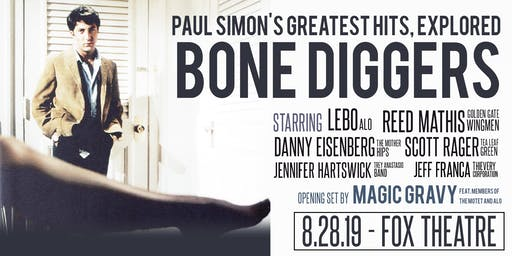 BONE DIGGERS: PAUL SIMON'S GREATEST HITS, EXPLORED with MAGIC GRAVY