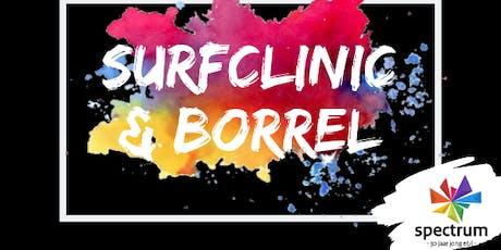 Surfclinic & borrel tickets
