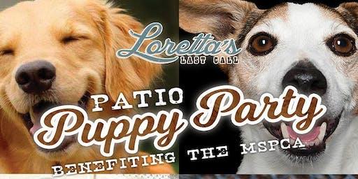 Patio Puppy Party at Loretta's Last Call