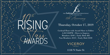 Fashion Group International of Chicago Presents: 10th Rising Stars Awards tickets
