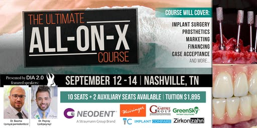 The Ultimate All-on-X Course + Ongoing Mentorship (Optional)