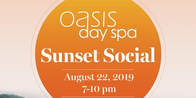 Oasis Day Spa's 2019 Sunset Social!