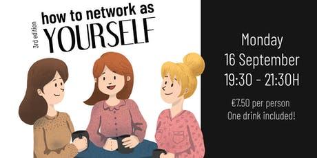Wereldpraatjes: How to Network as Yourself tickets