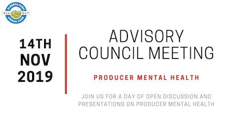 Advisory Council Meeting - Mental Health tickets