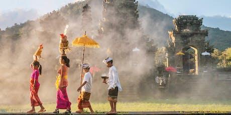 Conférence: Bali Sacrée 28 aout tickets