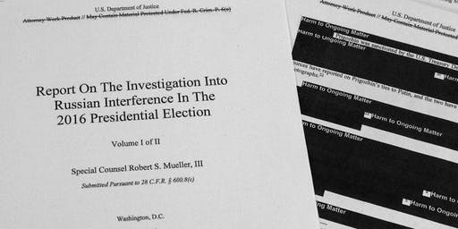 The Mulberry Street Library Presents: The Mueller Report, a Q&A and Discussion