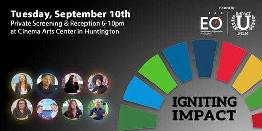 Premiere Film Screening: Igniting Impact