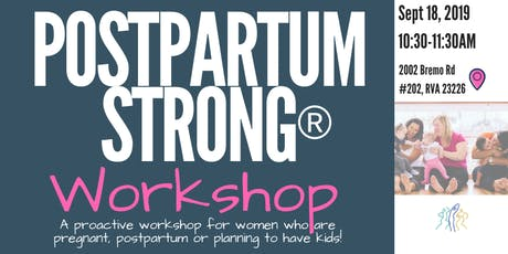 Pregnancy and Postpartum Strong® Workshop tickets