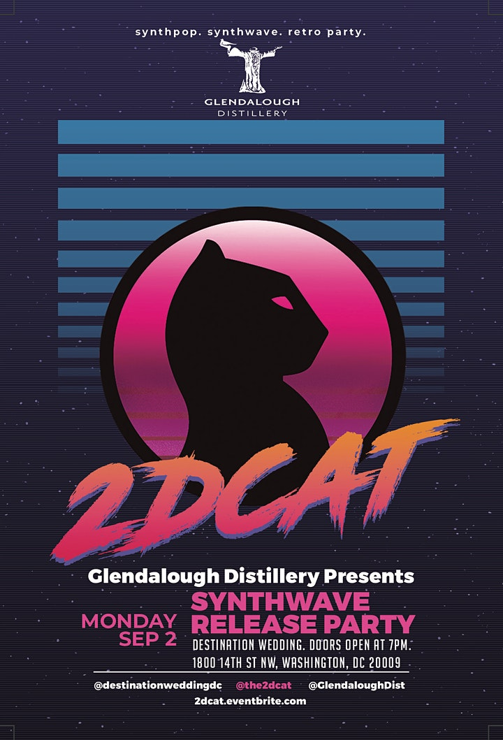2DCAT Synthwave Release Party image