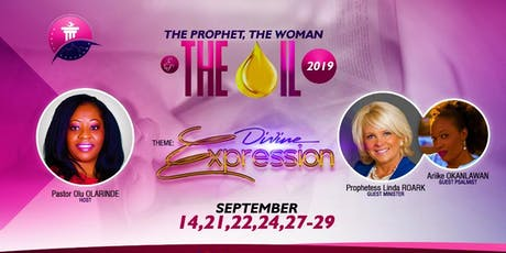 The Prophet, The Woman & The Oil Conference: Divine Expression tickets