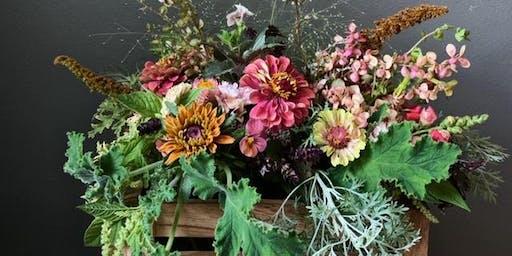 Wine & Design - Floral Arrangement