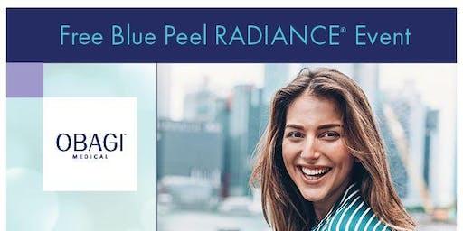 Free Blue Peel Radiance Event