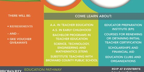 Education Pathway Marketplace tickets