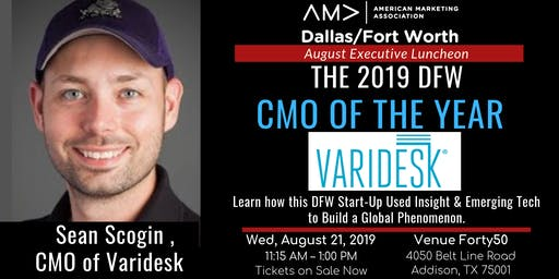August AMA DFW Executive Luncheon - CMO of the Year