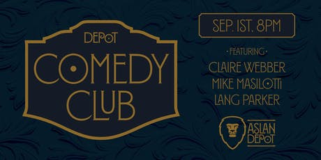 Depot Comedy Club: September Edition tickets