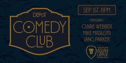 Depot Comedy Club: September Edition