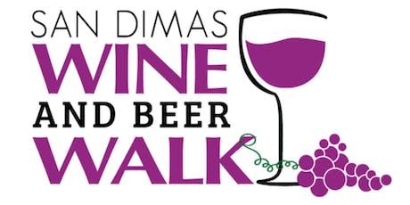 2019 San Dimas Wine and Beer Walk tickets