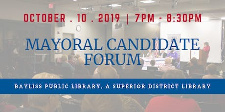 Mayoral Candidate Forum, Sault Sainte Marie tickets