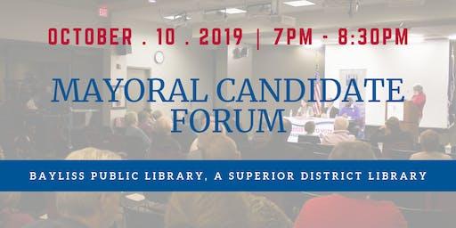 Mayoral Candidate Forum, Sault Sainte Marie