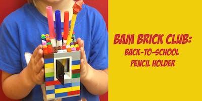 BAM LEGO Brick Club: Pencil Holder Create 'N Take
