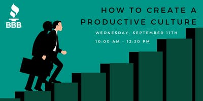 How to Create a Productive Culture